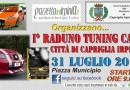 "Gazzettadellirpinia organizza: ""I^ Raduno Tuning Car Città di Capriglia Irpina"""
