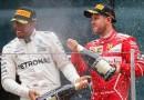 Gp Bahrein: Delirio Ferrari, Vettel vince davanti ad Hamilton e augura Buona Pasqua