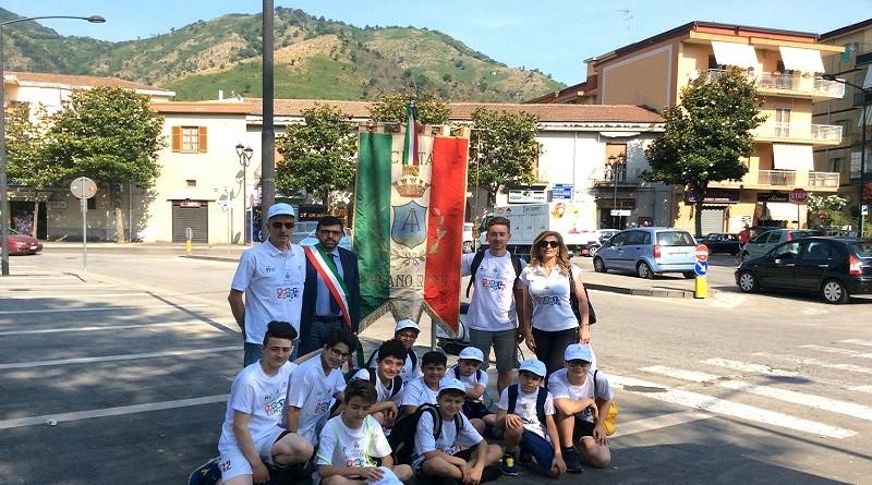 delegazione arianese Baronissi festa regionale sport in comune