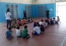 L'a.s.d. Raion alla ludoteca di Manocalzati con lezioni di karate e sport chanbara