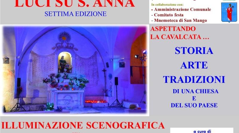 """""""Luci su S. Anna"""" a San Mango sul Calore"""