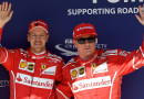 GP Ungheria, doppietta Ferrari, 1^ Vettel, 2^ Raikkonen, 3^ Bottas, male Hamilton