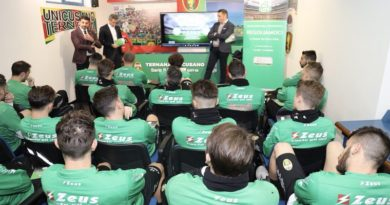 A Terni la 4° tappa del tour della Lega B per la prevenzione delle frodi sportive