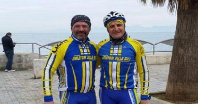 Ciclismo: il Circolo Amatori della Bici di Atripalda si fa in tre tra Lazio, Campania e Sicilia!