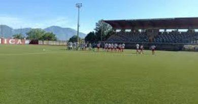 Real Forino-Intercampania 1-0. Non basta un super Cerbone ad evitare la sconfitta ai biancorossi