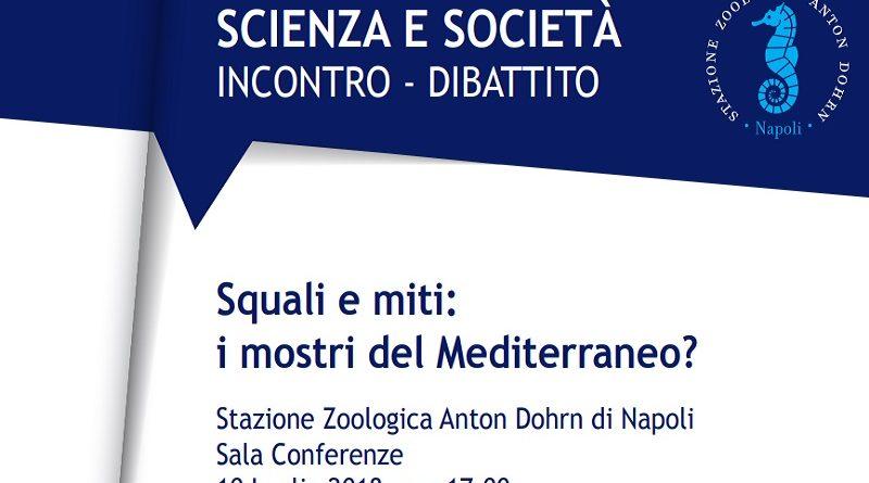 """Risultati immagini per comitato Scienza e Società. Incontro-dibattito """"Squali e miti: i mostri del Mediterraneo?"""""""