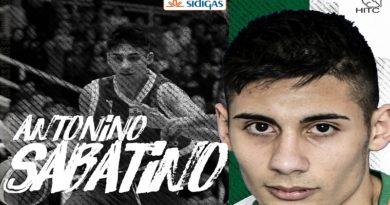 Sidigas, l'ultimo tassello del roster è Antonino Sabatino