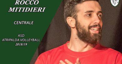 Serie B, l'Atripalda Volleyball alza il muro: Rocco Mitidieri è il nuovo centrale biancoverde
