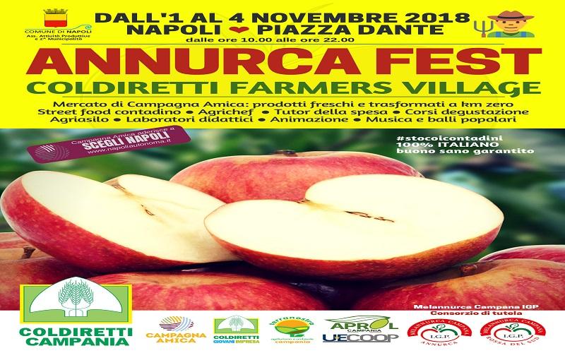 76189dbebb Annurca Fest, Coldiretti: torna a Napoli il villaggio contadino ...
