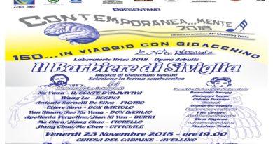 """L'Associazione Zenit 2000 di Avellino presenta """"Il Barbiere di Siviglia"""""""