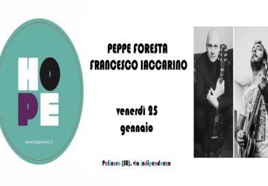La musica di Tiromancino, Gazzè, Battisti, Vasco, Ligabue, Grignani, Oasis e Rino Gaetano rivive nel live di Peppe Foresta e Francesco Iaccarino