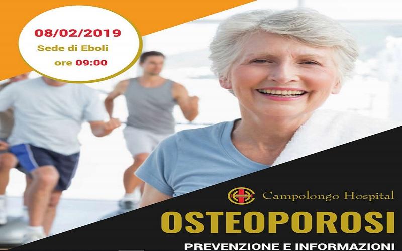 """Al Campolongo Hospital la giornata informativa e di prevenzione dell'""""Osteoporosi"""""""